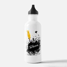 You should be writing (pen) Water Bottle