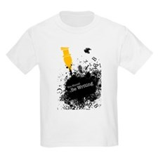 You should be writing (pen) Kids Light T-Shirt