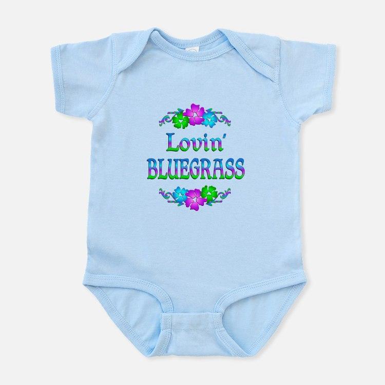 Lovin Bluegrass Infant Bodysuit