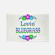 Lovin Bluegrass Rectangle Magnet