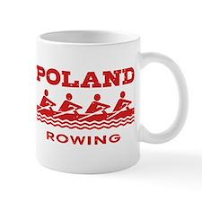 Poland Rowing Small Small Mug