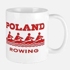 Poland Rowing Small Small Mug