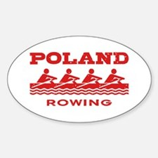 Poland Rowing Decal