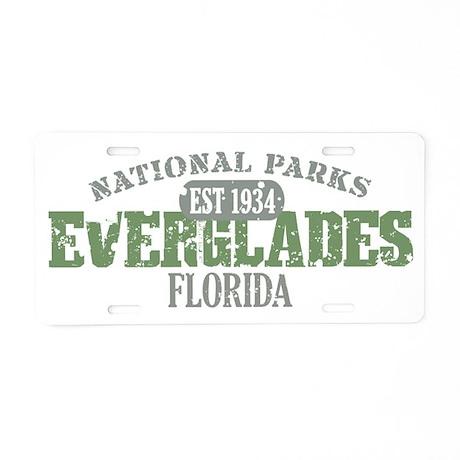 Everglades National Park FL Aluminum License Plate