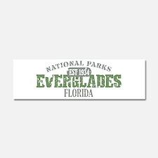 Everglades National Park FL Car Magnet 10 x 3