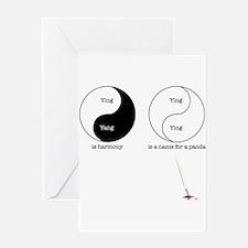 Ying ying Greeting Card
