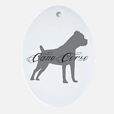 Cane Corso Ornament (Oval)