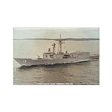 USS SAMUEL ELIOT MORISON Rectangle Magnet
