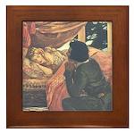 Smith's Sleeping Beauty Framed Tile