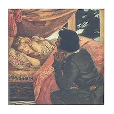 Smith's Sleeping Beauty Tile Coaster