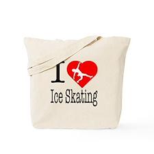I Love Ice Skating Tote Bag