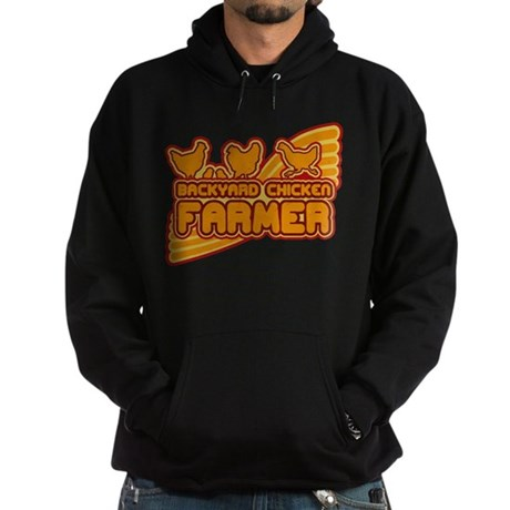 Backyard Chicken Farmer Hoodie (dark)