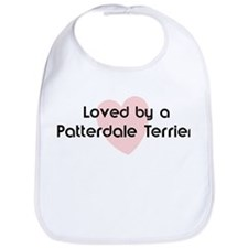 Loved by a Patterdale Terrier Bib