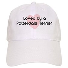 Loved by a Patterdale Terrier Baseball Cap