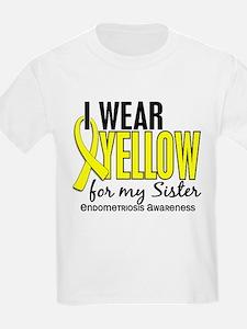 I Wear Yellow 10 Endometriosis T-Shirt
