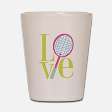 Cute Tennis Shot Glass