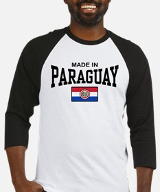 Made In Paraguay Baseball Jersey