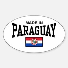 Made In Paraguay Decal