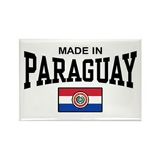 Made In Paraguay Rectangle Magnet