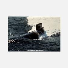 USS SAN FRANCISCO Rectangle Magnet