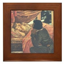 Smith's Sleeping Beauty Framed Tile