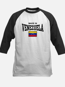 Made In Venezuela Kids Baseball Jersey