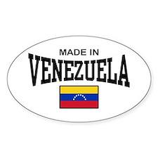Made In Venezuela Decal