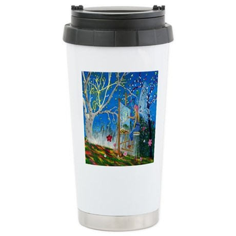 Fairy Artist Stainless Steel Travel Mug