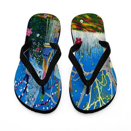 Fairy Artist Flip Flops