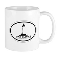 Oak Bluffs MA - Oval Design. Mug
