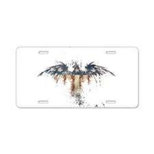 Americana Eagle Aluminum License Plate