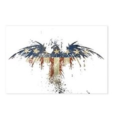 Americana Eagle Postcards (Package of 8)