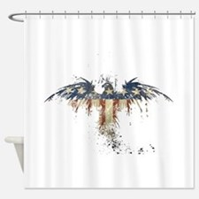 Americana Eagle Shower Curtain