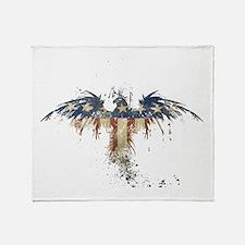 Americana Eagle Throw Blanket