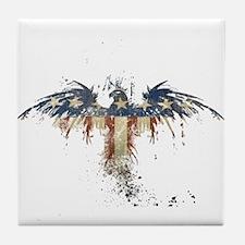Americana Eagle Tile Coaster