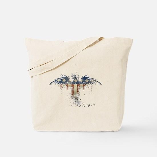 Americana Eagle Tote Bag
