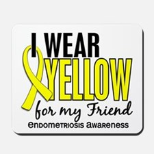 I Wear Yellow 10 Endometriosis Mousepad
