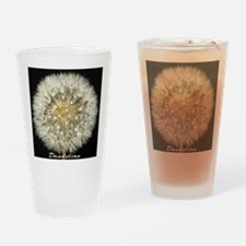 Dandelion by Terry Lynch Drinking Glass