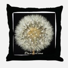 Dandelion by Terry Lynch Throw Pillow