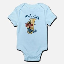 Tuba - Loud Proud Infant Bodysuit