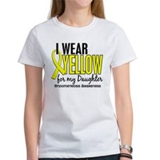 I Wear Yellow 10 Endometriosis Tee