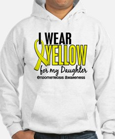 I Wear Yellow 10 Endometriosis Hoodie