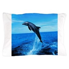 Dolphin Frolicking Pillow Case