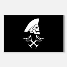Martini Pirate Decal