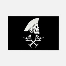 Martini Pirate Rectangle Magnet (100 pack)