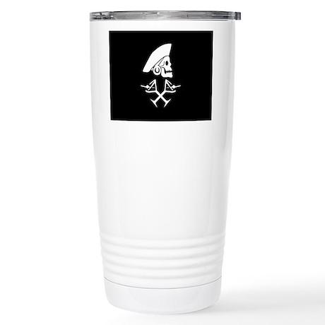 Martini Pirate Stainless Steel Travel Mug