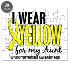 I Wear Yellow 10 Endometriosis Puzzle