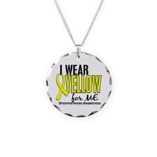 I Wear Yellow 10 Endometriosis Necklace