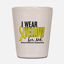 I Wear Yellow 10 Endometriosis Shot Glass