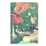 Smith's Goose Girl  Postcards (Package of 8)